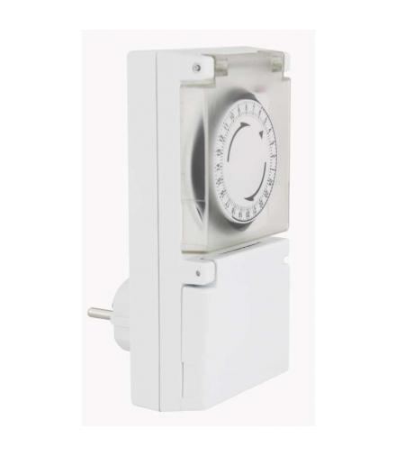 Mechaniczny programator czasowy IP44 zewnętrzny EMOS P5505