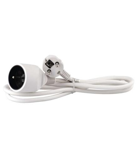 Przedłużacz 1 gniazdo 2m biały EMOS P0112