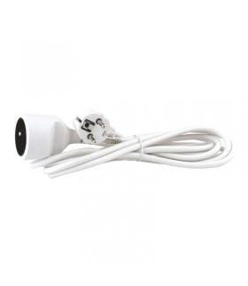 Przedłużacz 1 gniazdo 3m biały EMOS P0113