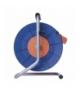 Przedłużacz zwijany - 4 gniazda, 3x1,5, 50m EMOS P19450