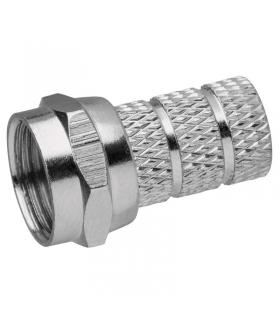 Wtyczka F 4,0/5,5 do kabla koncentrycznego CB500 EMOS K7321 10szt