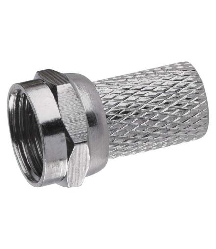 Wtyczka F 5,0/6,5 do kabla koncentrycznego CB100, CB50 EMOS K7331B