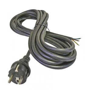 Przewód przyłączeniowy guma 3×1,5mm, 3m czarny EMOS S03230