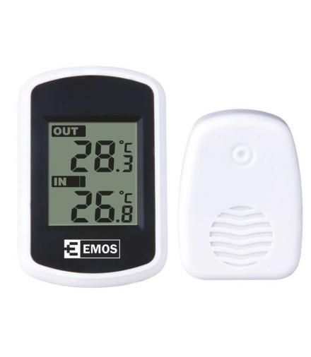 Termometr BATERYJNY bezprzewodowy 100m EMOS E0042