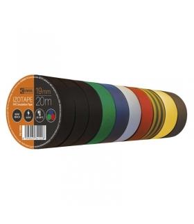 Taśma izolacyjna PVC 19mm / 20m mix EMOS F61999