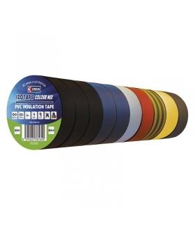 Taśma izolacyjna PVC 15mm / 10m mix EMOS F615992