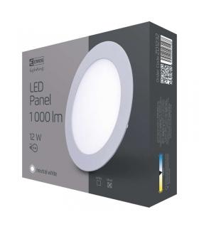 Panel LED wpuszczany okrągły 12W IP20 neutralna biel EMOS ZD1232