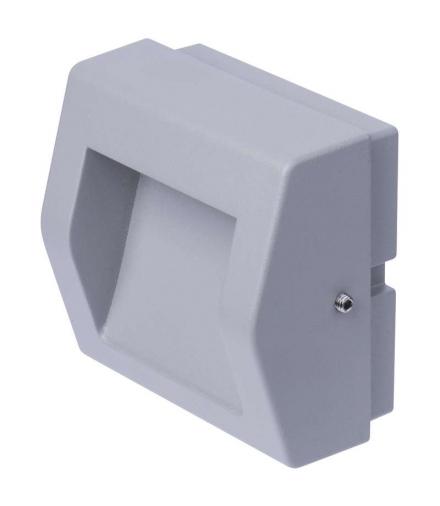 Orientacyjna oprawa LED, naścienna, prostokąt 4W WW IP54 EMOS ZC0103