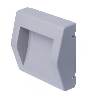 Orientacyjna oprawa LED, naścienna, kwadrat 6W WW IP54 EMOS ZC0104
