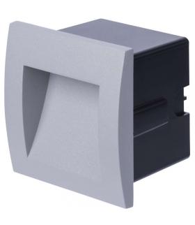 Orientacyjna oprawa LED, do wbudowania, kwadrat 6W WW IP65 EMOS ZC0105