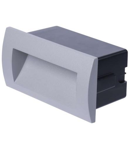 Orientacyjna oprawa LED, do wbudowania, prostokąt 3W WW IP65 EMOS ZC0106