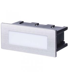 Orientacyjna oprawa LED, do wbudowania,prostokąt 1,5W WWIP65 EMOS ZC0108