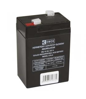Akumulator AGM 6V 4Ah F4,7 EMOS B9641