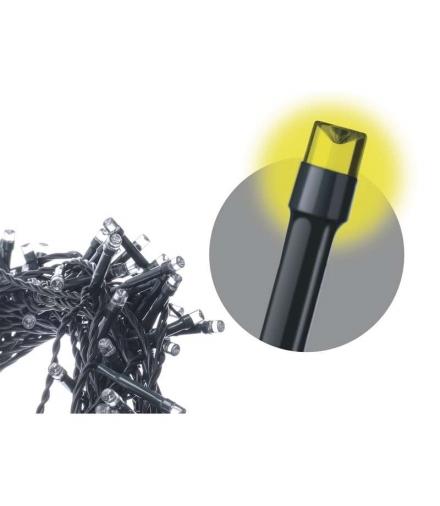 Lampki choinkowe 50 LED 2,5m IP20 WW EMOS ZYK0102