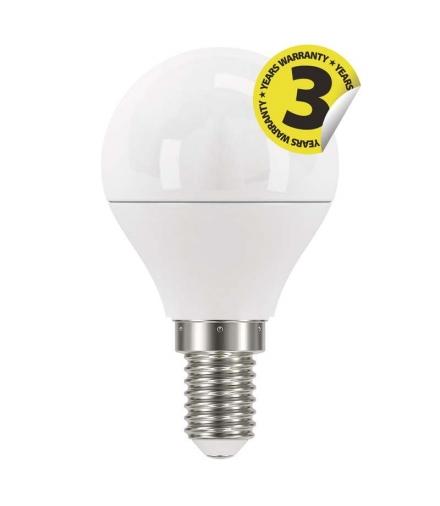 Żarówka LED Classic mini globe 6W E14 zimna biel EMOS ZQ1222