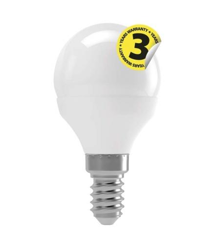 Żarówka LED Classic mini globe 4W E14 ciepła biel EMOS ZQ1210