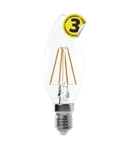 Żarówka LED Filament candle A++ 4W E14 neutralna biel EMOS Z74214
