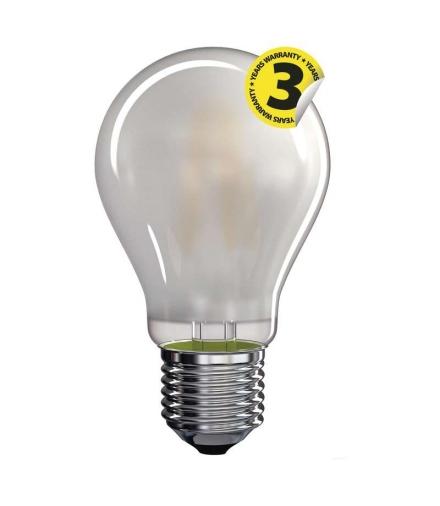 Żarówka LED Filament A60 matowa 8,5W E27 ciepła biel EMOS Z74275