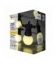 Łańcuch z żarówek 10x 5 LED, mleczne, 5m, IP44, WW EMOS ZY1939