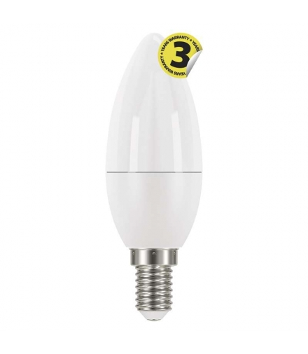 Żarówka LED Classic candle 6W E14 neutralna biel EMOS ZQ3221