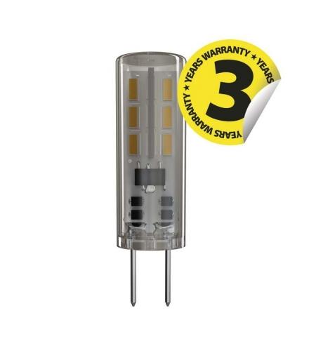 Żarówka LED Classic JC A++ 1,3W G4 ciepła biel EMOS ZQ8610