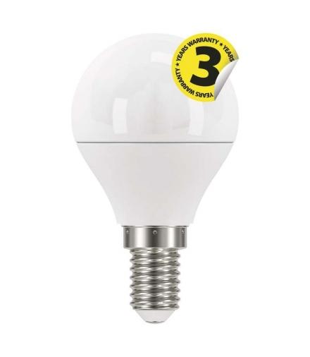 Żarówka LED Classic mini globe 6W E14 neutralna biel EMOS ZQ1221