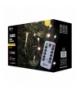 Oświetlenie świąteczne 300 LED sople 5m WW, 8 progr., pilot EMOS ZY1906