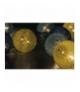 Łańcuch 10 LED 1,35m bawełniane kule, lato, 2x AA, WW, timer EMOS ZY1963