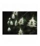 Dekoracje 10 LED metalowe choinki 3x AA WW, timer EMOS ZY1973