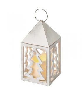 Lampion LED świeczka, choinki 3x AAA, WW, timer EMOS ZY1957