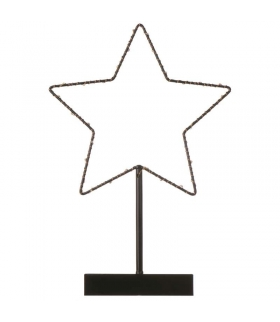 Dekoracje 30 LED gwiazda, 3x AA, WW, timer EMOS ZY1960