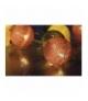 Łańcuch 10 LED 1,35m baweł. kule, wiosna, 2x AA, WW, timer EMOS ZY1964