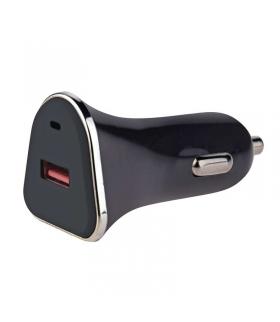 Zasilacz ładowarka samochodowa USB QUICK 3 A (18 W) max. EMOS V0215