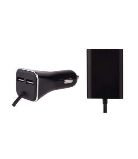 Zasilacz ładowarka samochodowa USB SMART 7,3 A (36,5 W) max kab. EMOS V0216