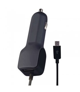 Zasilacz ładowarka samochodowa USB SMART 3,1 A (15,5 W) max kab. EMOS V0217