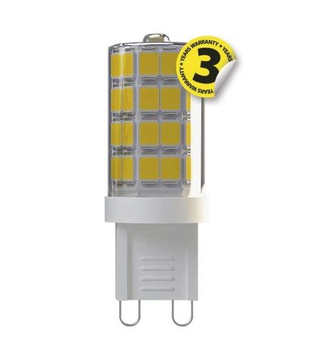 Żarówka LED Classic JC A++ 3,5W G9 neutralna biel EMOS ZQ9531