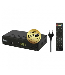 Odbiornik DVB-T2 EMOS EM170 HD EMOS J6009