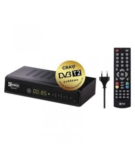 Odbiornik DVB-T2 EMOS EM180 HEVC H265 EMOS J6011