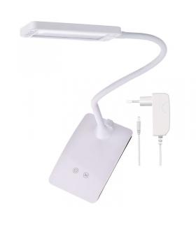 Lampa biurkowa LED EDDY biały EMOS Z7599W