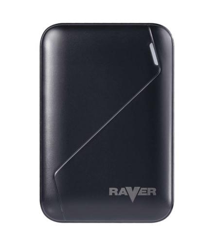 Power bank RAVER 6600mAh czarny EMOS B0511