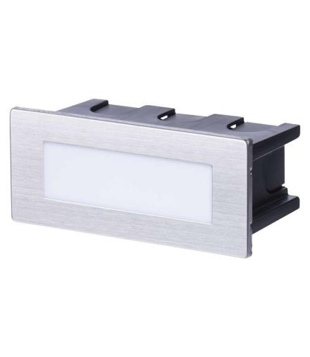 Orientacyjna oprawa LED,do wbudowania,prostokąt 1,5W NW IP65 EMOS ZC0110