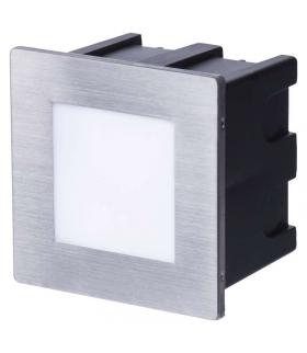 Orientacyjna oprawa LED, do wbudowania, kwadrat 1,5W NW IP65 EMOS ZC0111
