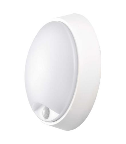 Oprawa LED okrągła PIR 14W IP54 ciepła biel EMOS ZM3131