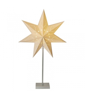 Dekoracje 10 LED 45cm gwiazda 2x AA WW, timer EMOS ZY2177