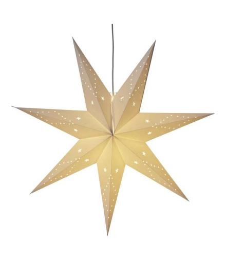 Dekoracje 10 LED 60cm gwiazda 2x AA WW, timer EMOS ZY2178