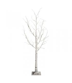 Dekoracje 48 LED, drzewko brzoza 120cm IP44, WW, timer EMOS ZY2138T