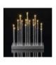Świecznik 20 LED 3x AA biały IP20 WW, timer EMOS ZY2108