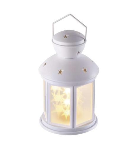 Lampion LED gwiazdki 3D 20cm 3x AA, WW, timer EMOS ZY2113