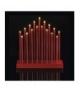 Świecznik 20 LED 3x AA czerwony IP20 WW, timer EMOS ZY2109