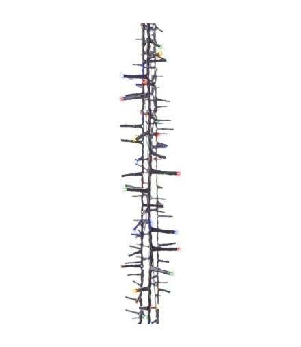 Lampki choinkowe 400 LED 8m, MULTI, timer EMOS ZY2038T